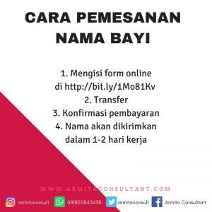 Armita Konsultan Nama Bayi dan Nama Usaha