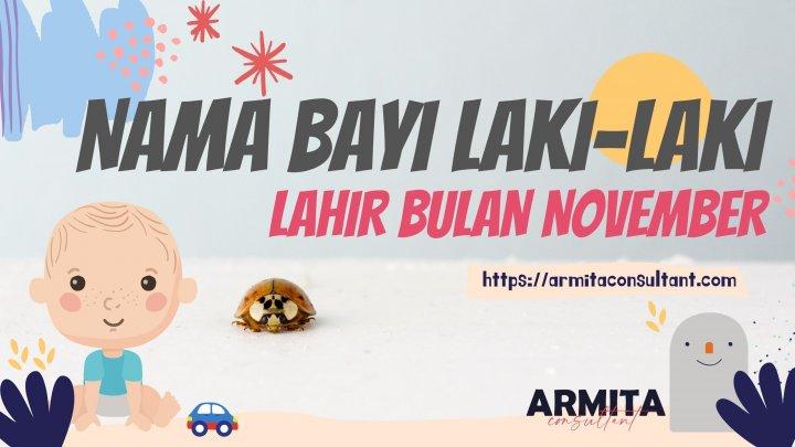 Ide Nama Bayi Laki Laki Lahir Bulan November
